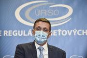 Predseda Úradu pre reguláciu sieťových odvetví Andrej Juris.
