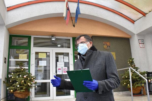 Riaditeľ ZSS Arcus Juraj Briškár.