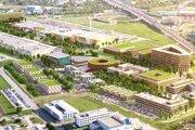 Pôvodné vizualizácie projektu Pharos Park.
