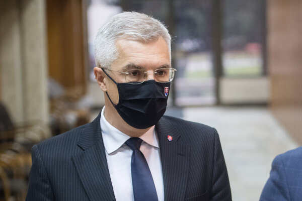 Minister zahraničia Ivan Korčok (nom. SaS).