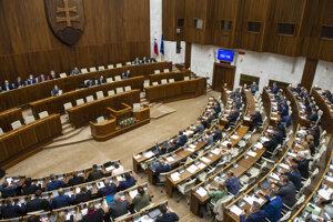 Rokovanie Národnej rady.