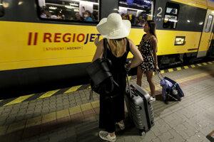 Vlakové spoje budú mať podobný cestovný poriadok ako v minulom roku.