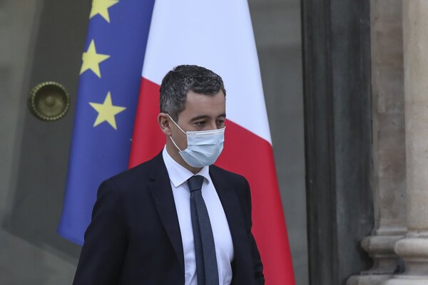 Francúzsky minister vnútra Gérald Darmanin.