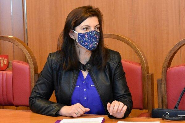 Rgionálna hygienička Renata Beníková