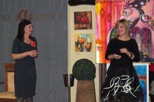 Výstavu otvorili (sprava) Henrieta Rojková a Henrieta Ďurovová.