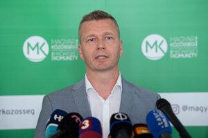 Predseda Strany maďarskej komunity (SMK) Krisztián Forró.