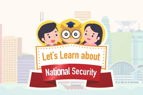 Screenshot z videa Let's learn about national security.