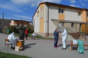 Testovanie v Lomničke vlani v apríli.