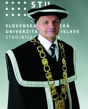 Dekan Strojníckej fakulty: Dr.h.c. prof. Ing. Ľubomír Šooš PhD