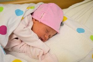 Anna Soldánová (2890 g, 49cm) sa narodila 30. januára Anne a Michalovi z Veľkých Bieroviec.