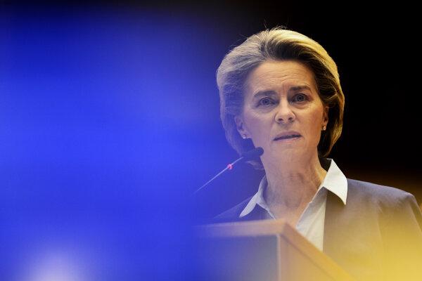 Predsedníčka Európskej komisieUrsula von der Leyenová.