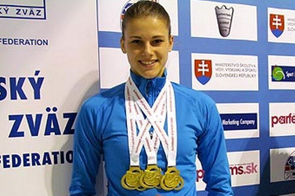 Trikrát zlatá Daniela Ledecká.