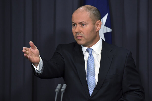 Austrálsky minister financií Josh Frydenberg.