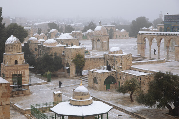 Komplex Mešity al-Aksá.
