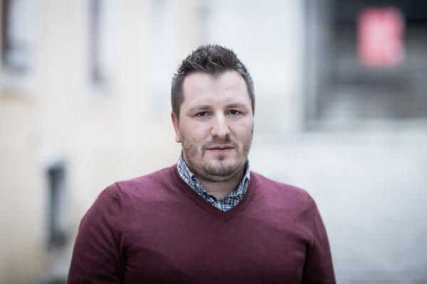 Psychológ Marek Madro.
