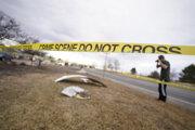 Úlomky z lietadla skončili v obytnej časti