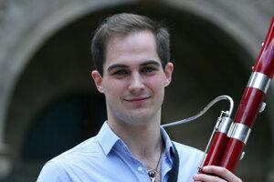 Český fagotista Jan Hudeček bude mať na koncerte sólo.