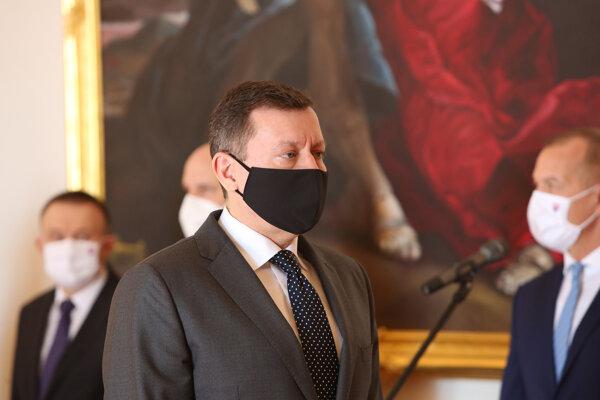Šéf ÚŠP Daniel Lipšic.