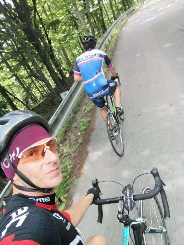 Roman Čejtei ako cyklista.