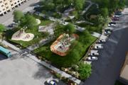 Vo vynovenom parku má byť ihrisko, lavičky, dopravné okruhy iživý plot.