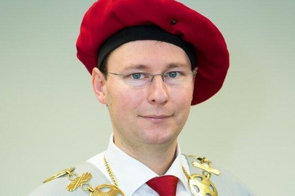Jozef Habánik, rektor Trenčianskej univerzity Alexandra Dubčeka v Trenčíne.