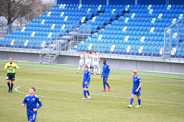 Zlaté Moravce už dva a pol roka neprehrali v Nitre. Nikdy proti rivalovi neťahali dlhšiu šnúru bez prehry než teraz.
