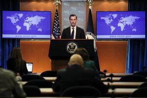 Hovorca amerického ministerstva zahraničných vecí Ned Price.