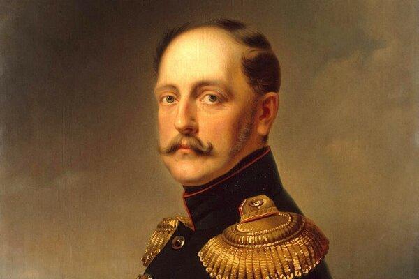 Portrét cára Mikuláša I. z roku 1852 od Franza Krügera