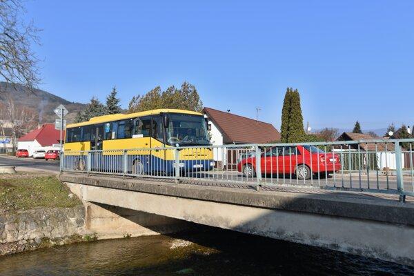 Most v Horných Orešanoch prešiel diagnostikou.