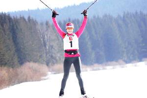 Z prvého zimného triatlonu mala Jarmila Kakusová veľkú radosť.