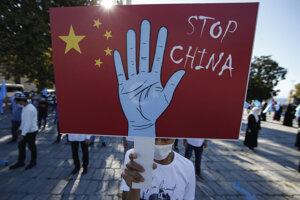Zastavte Čínu, odkazujú Ujguri vo svete.