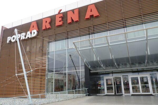 Tri odberné miesta budú v Aréne Poprad.
