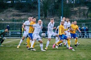 Momentka zo zápasu FK Pohronie - FK Senica.