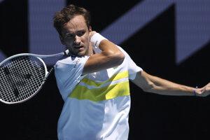 Ruský tenista Daniil Medvedev.