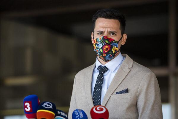 Poslanec Kristián Čekovský.