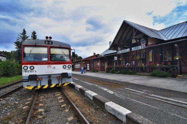 Stanica Tatranská Lomnica.