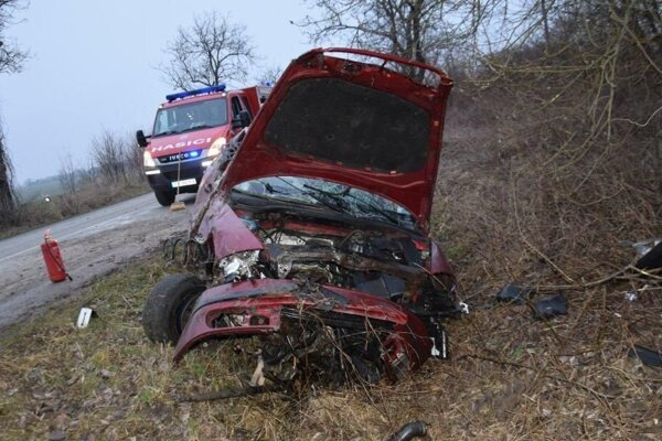 Aj nehodu v okrese Trebišov spôsobil opitý vodič.