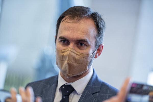 Predseda poslaneckého klubu OĽaNO Michal Šipoš.