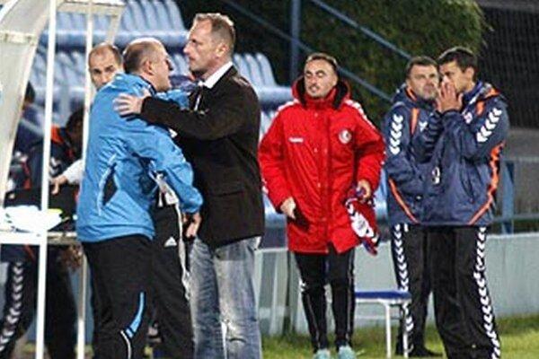 Nitrianski tréneri Koník s Pavlíkom sa po poslednom hvizde radovali, Seničan Pagáč nechápal, kde jeho tím prehral...
