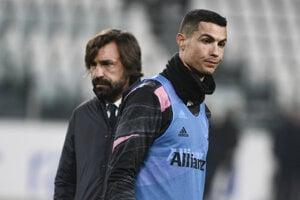 Cristiano Ronaldo a Andrea Pirlo.