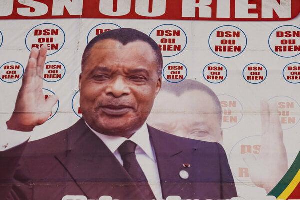 Plagát z prezidentskej kampane kandidáta Kolelasa.