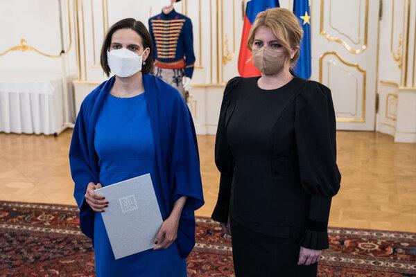 Prezidentka Zuzana Čaputová prijala demisiu Márie Kolíkovej.