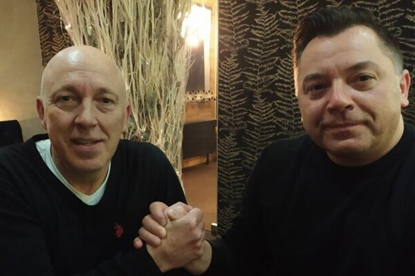 Peter Hammer (vľavo) a Nik Schwarz.