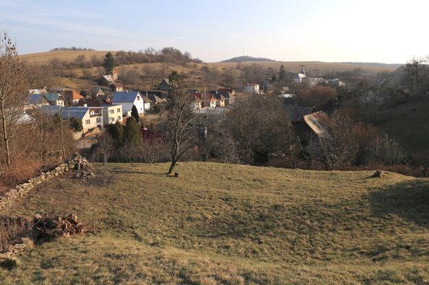 Pohľad na dedinku.