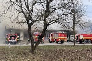 Sobotňajší zásah hasičov.