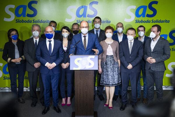 Strasa SaS na čele s Richardom Sulíkom je pripravená vrátiť sa do vlády.