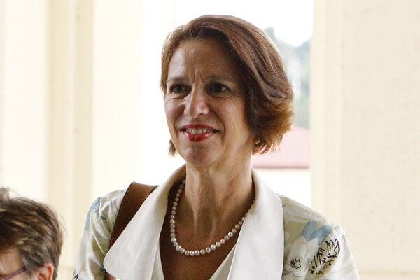 Osobitná vyslankyňa OSN pre Mjanmarsko Christine Schranerová Burgenerová