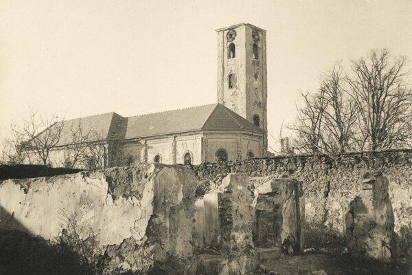 Požiarom najviac postihnutý bol Kostol sv. Jozefa s kláštorom.
