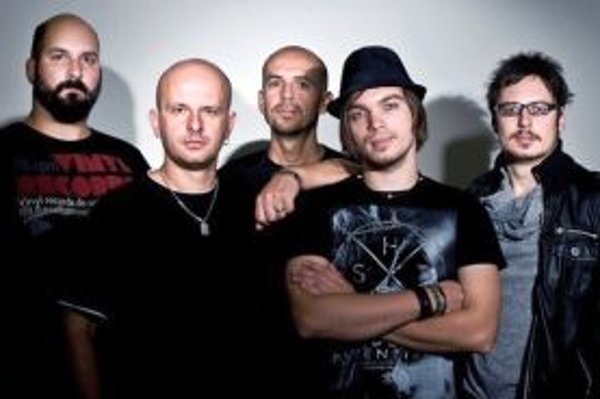 Kapela Try - zľava Mišo Gaj, Jany Sivák, Miro Hrušovský, Ján Ločaj a Edo Balko.