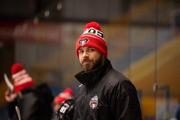 Maximilián Bača, tréner brankárov HC ´05 Banská Bystrica.